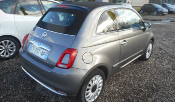 FIAT 500 C LOUNGE 1.2 ESS 69CH full