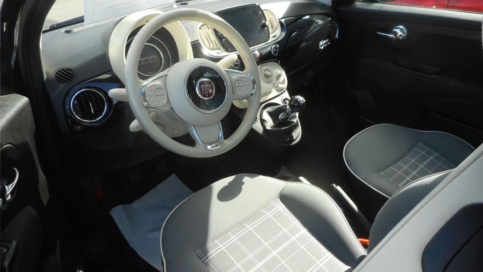 FIAT 500 1.2 ESS 69CH LOUNGE full